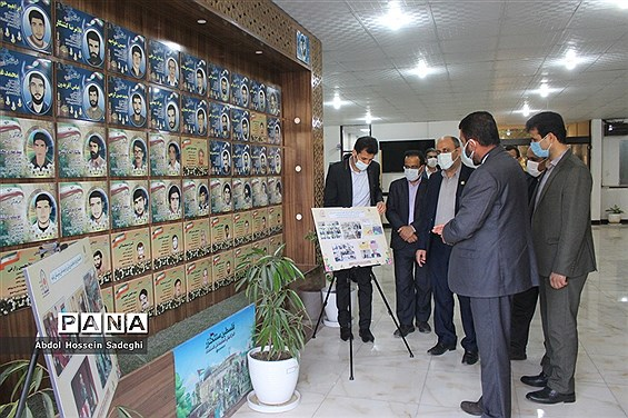 نمایشگاه دستاوردهای امور تربیتی آموزش و پرورش استان بوشهر