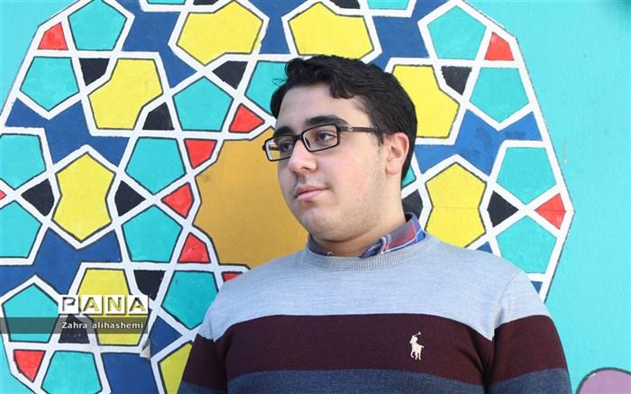 سپهر گل شیرازیان؛ نماینده اقلیت های مذهبی مجلس دانش آموزی