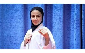 سارا بهمنیار به همراه تیم ملی عازم رقابت های لیگ کاراته وان استانبول شد