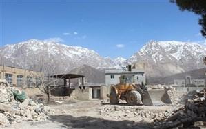 بازسازی مدارس آسیب دیده زلزله سیسخت آغاز شد