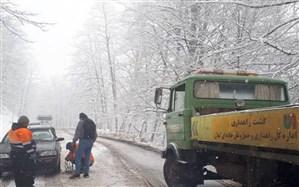 زنجیر چرخ برای تردد در محورهای کوهستانی تالش الزامی است