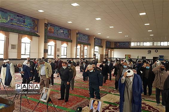 برگزاری سی وهفتمین نمازجمعه سال1399درشهرستان خوسف