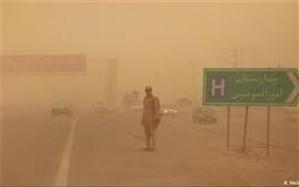 گرد و غبار دید افقی در زابل را به 300 متر کاهش داد