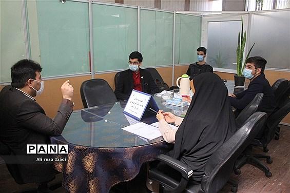 نشست نمایندگان مجلس دانش آموزی پسران شهرستان بوشهر