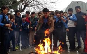 فراخوان مسابقه بزرگ چهارشنبه سوری در مدارس البرز