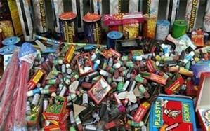 کشف مواد محترقه و سیگار قاچاق در مراغه