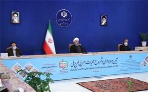افتتاح طرح انتقال آب خلیج فارس و دریای عمان به 7 استان با فرمان رئیسجمهوری