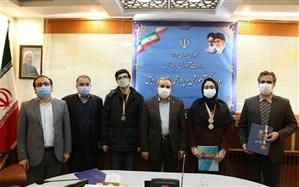 تجلیل از مدالآوران المپیادهای علمی دانش آموزی استان اردبیل