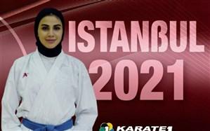 کسب مدال برنز بانوی گیلانی در لیگ کاراته وان ترکیه