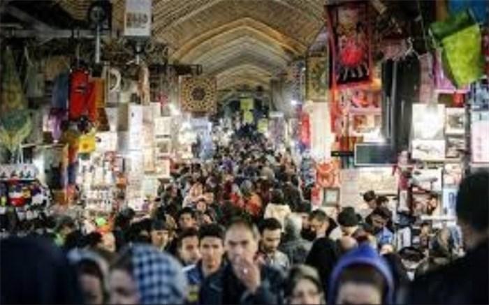 حال و هوای بازار بزرگ تهران در شب عید