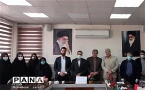 مراسم تجلیل از مدرسان رسانه ملی و شبکه آموزش فرهنگیان شهرستان قرچک