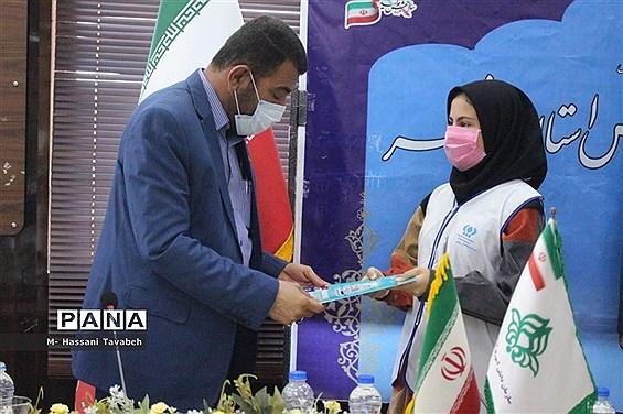 مراسم تجلیل از مدرسان و دانشآموزان خبرگزاری پانا استان بوشهر