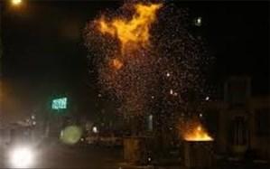 ساخت مواد محترقه غیر مجاز برای چهارشنبه سوری  درقرچک حادثه آفرید