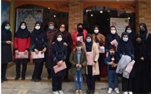 تجلیل از دانشآموزان  برترمدرسه شهیدزهرهوندشهرستان قرچک