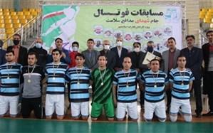قهرمانی تیم فوتسال کارکنان آموزش و پرورش شهرستان اسلامشهر