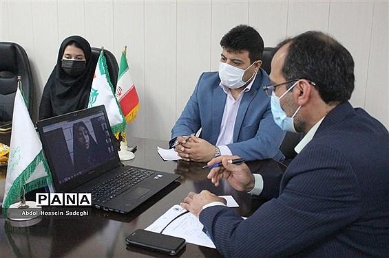 نشست هیات رئیسه مجلس دانش آموزی استان بوشهر