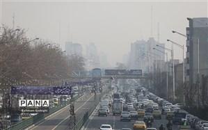 وضعیت قرمز کیفیت هوای تهران