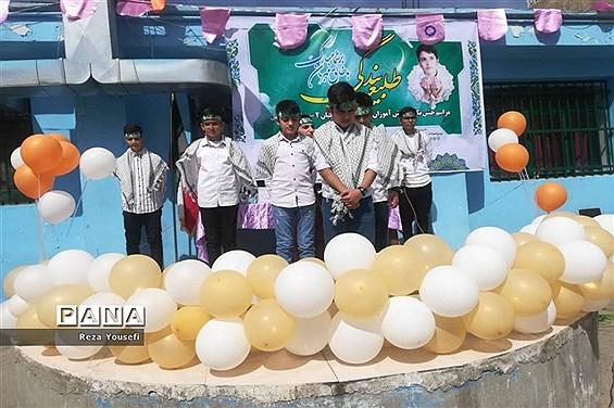 جشن تکلیف دانشآموزان پایه نهم دبیرستان پروفسور سمیعی شهریار