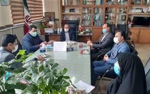 دیدار دبیر فرهنگی شورای ستاد مبارزه با مواد مخدر با مسئولان  آموزش و پرورش پاکدشت