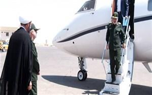 فرمانده کل سپاه پاسداران انقلاب اسلامی وارد یاسوج شد