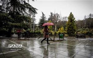 تداوم بارش باران در برخی مناطق کشور