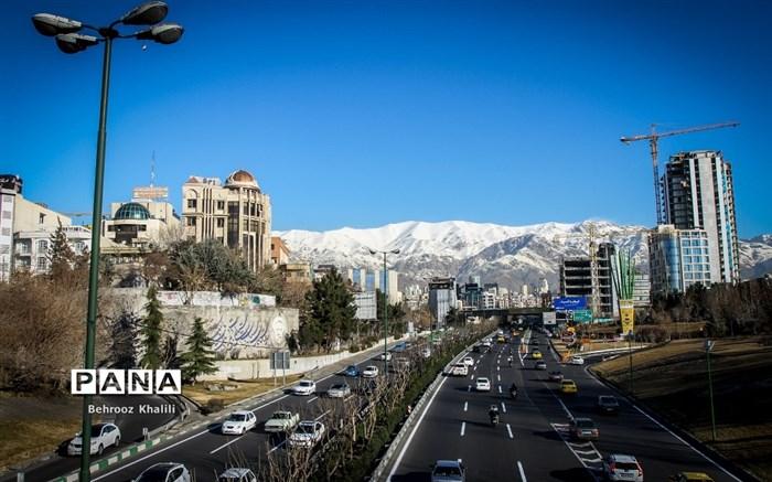 هوای پاک پایتخت پس از آلودگی های مداوم
