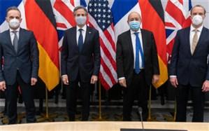 مهمترین محور گفتگوی وزیران خارجه آمریکا و تروئیکای اروپایی