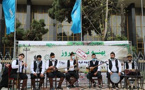 اجرای گروه موسیقی مازرون در تالار وحدت