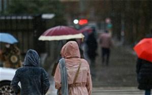 بارش باران در ۲۱ استان؛ دمای سواحل خزر ۶ تا ۱۲ درجه کاهش مییابد