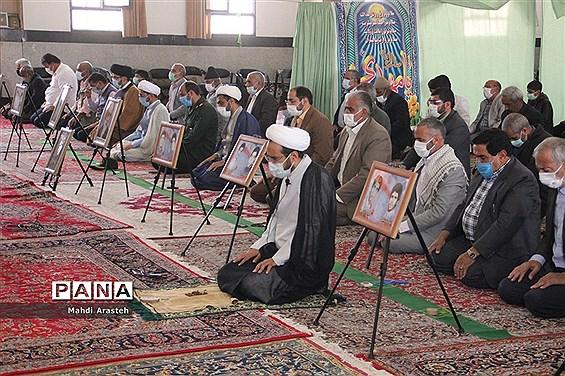 برگزاری اولین  نمازجمعه سال1400درشهرستان خوسف