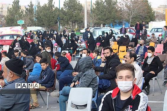 جشن نیمه شعبان در آرامستان بقائیه