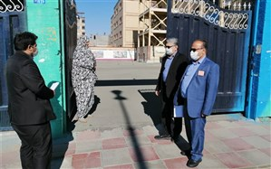 بازدید از مدارس در تعطیلات نوروزی