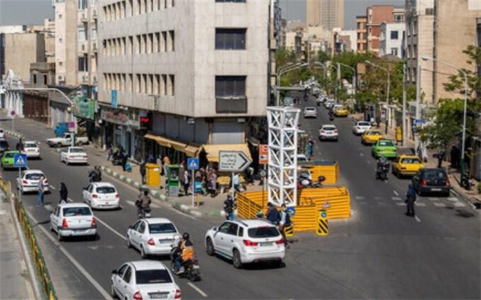 ترافیک روان در معابر پایتخت