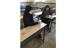 آموزگار فداکار کرجی که در شرایط سخت کرونایی، تدریس حضوری را کنار نگذاشت