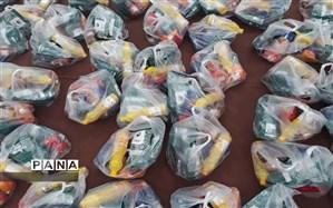 توزیع بسته های حمایتی میان خانواده های کم برخوردار مبتلا به کووید۱۹