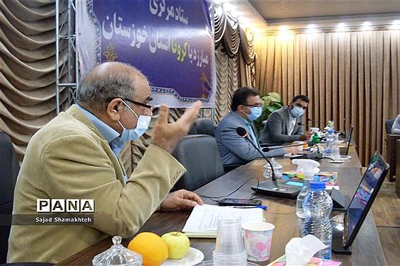 نشست خبری رییس دانشگاه علوم پزشکی جندی شاپور اهواز