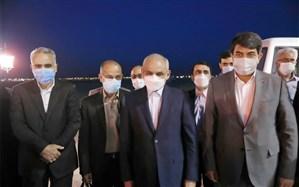 وزیر آموزش و پرورش  وارد استان یزد شد