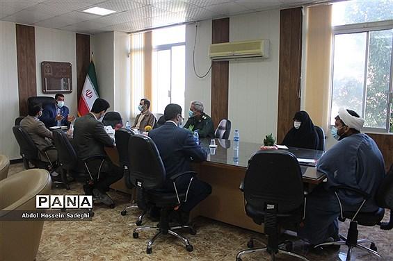 جلسه کار گروه قرآنی قرارگاه فرهنگی آموزش و پرورش استان بوشهر
