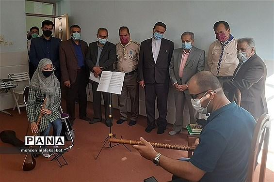 بازدید معاون پرورشی و فرهنگی وزیر آموزش و پرورش از سازمان دانش آموزی استان یزد