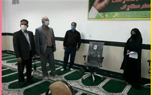 بازدید مدیرآموزش وپرورش خلیل آباد از نمایشگاه طرح های جابربن حیان