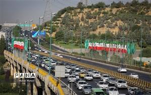 ترافیک سنگین صبحگاهی در معابر بزرگراهی پایتخت