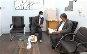 بازدید نماینده مدیران مدارس شهرستان دشتستان از دبستان  پسرانه پیشتازان بوشهر