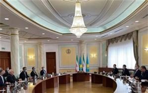 آغاز گفتوگوی ظریف با وزیر خارجه قزاقستان