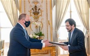 سفیر ایران در فرانسه استوارنامه خود را به شاهزاده موناکو تسلیم کرد