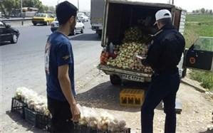اجرای طرح برخورد پلیس با فروشندگان سیار