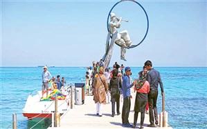 چه تعداد مسافر به جزیره جنوبی ایران سفر کردند؟