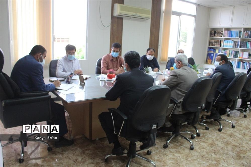 شورای اداری معاونت پرورشی و فرهنگی ادارهکل آموزش و پرورش استان بوشهر