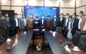 تجلیل از دانش آموزان دعوتشده به اردوی تیم ملی کشتی نوجوانان