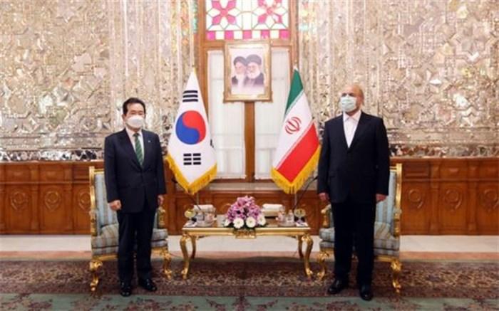 قالیباف و نخست وزیر کره جنوبی