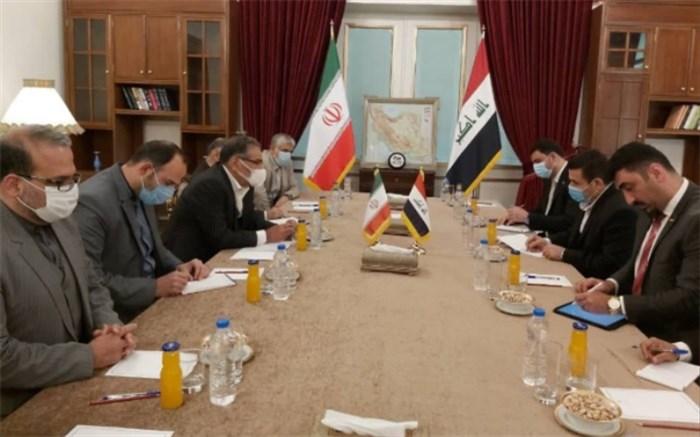 دیدار مشاور امنیت ملی عراق با شمخانی